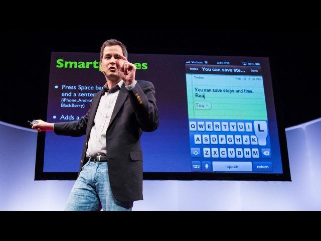10 top time-saving tech tips | David Pogue » Freewka.com - Смотреть онлайн в хорощем качестве