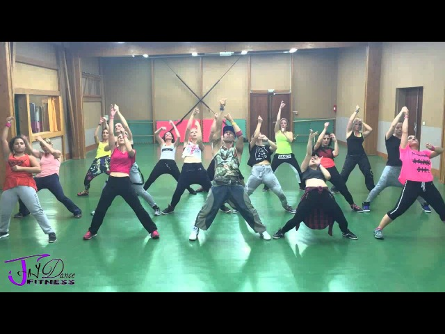 JayDance Fitness Hey Mama @David Guetta Feat Nicki Minaj choreography by Jérôme Lemesle