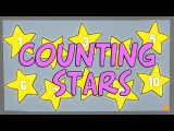 Counting Stars 1-10 - Counting Backwards and Forwards Numbers Video for Kids - ELF Kids Videos