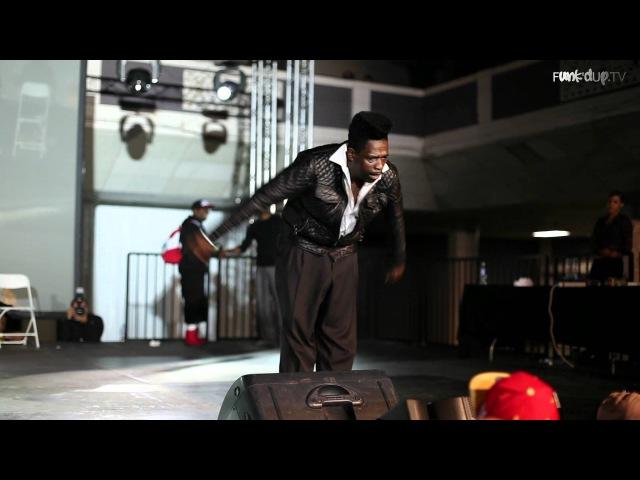 Flat Top Popping Showcase | KOD USA 2012 | Funk'd Up TV