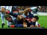 Драка Барселона и Реал Мадрид