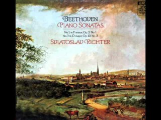 Beethoven / Richter, 1976: Sonata No. 7 in D, Op. 10, No. 3 - Complete