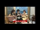Чжи Хён У (Ji Hyun Woo) учит играть на гитаре Го Чжун Хи (Go Joon Hee)