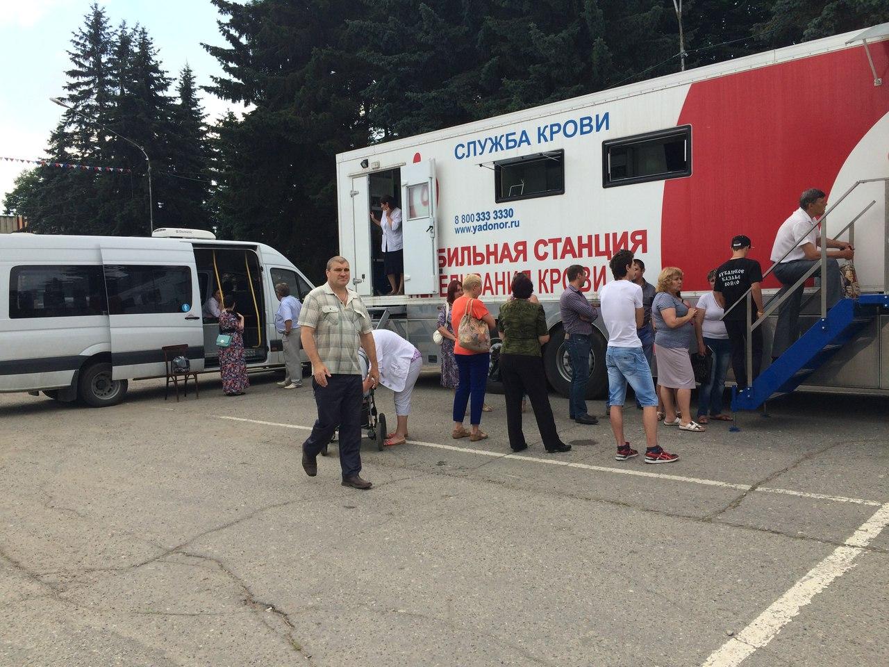 Жители Зеленчукской приняли участие в акции «День донора в Зеленчукском районе»