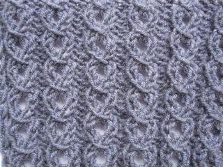 Ажурная резинка спицами. Узоры спицами видео для начинающих Knitting pattern