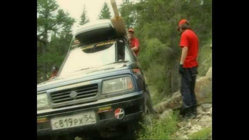 Экстримальный маршрут на джипах. Новосибирские джиперы проехали по тропе Тюнгур-Иня