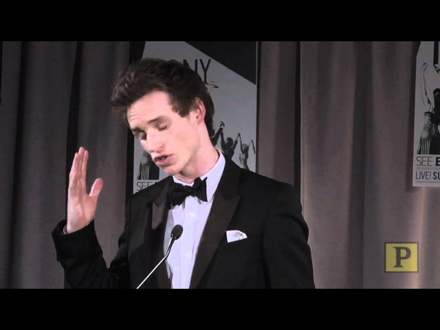 2010 Tony Winner Eddie Redmayne on Red's American Audiences and the Color of This Life
