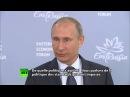 Vladimir Poutine la crise migratoire en Europe était inévitable