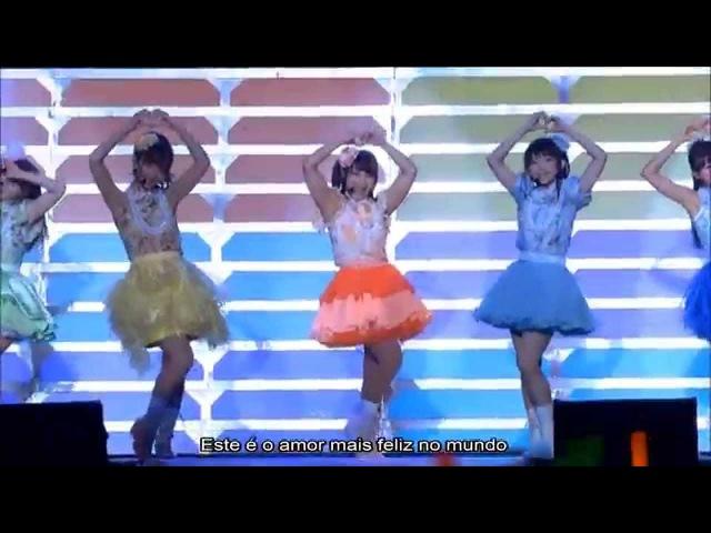 【μ's】Mogyutto love de Sekkin Chuu!「Legendado PT-BR」