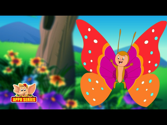 I'm A Little Butterfly - Nursery Rhyme with Lyrics and Sing Along