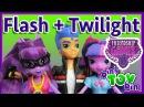 Flash Sentry + Twilight Sparkle Equestria Girls Friendship Games MLP Dolls! Review by Bin's Toy Bin