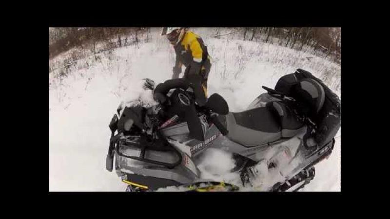 ATV Crash brp renegade 1000 xxc snow Bombardier квадроциклы Украина Луганск