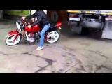 Улетный тяжелый мотоцикл УРАЛ в обалденном тюнинге