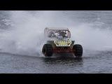 Машины, мотоциклы, снегоходы гоняют по воде как по суше