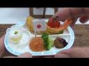 MiniFood Okosama Lunch 食べれるミニチュアお子様ランチ Variety full Miniature Japanese Kid's Lunch