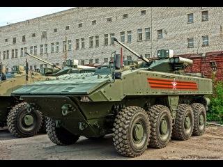 Современная военная техника России 2015-2016. Обзор БТР Бумеранг бронетранспортер ВПК 7829