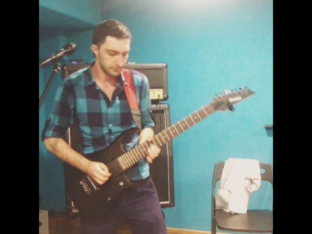 "S-lED_ROCK on Instagram: ""На улице ливень...а нам все равно...мы творим музыку.соло от Тамирлана к песне Одинокий волк репу репим! @sled_rock @s_led_rock…"""