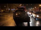 Гонки BMW и Lexus на Садовом кольце закончились крупным ДТП