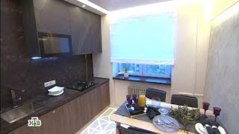 Теплый минимализм икаменные поверхности на кухне со светящимся полом