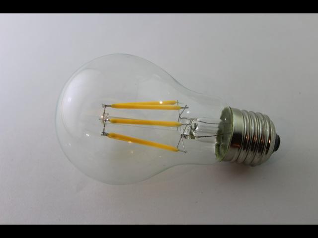 Светодиодная лампа FILAMENT 6W обзор, кратко. Led candle filaments 6W.
