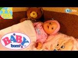 Беби Борн. Девочка Ника укладывает спать свою куклу. Новая пижама для игрушки. Видео для детей