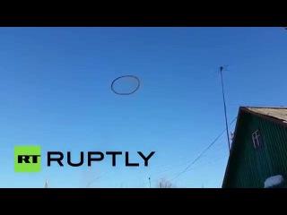 Черный круг в небе над Казахстаном всполошил местных жителей