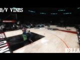 B/V Vines | Aaron Gordon Between-the-Legs, Over the Mascot Dunk