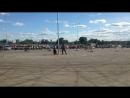 гонки на радиоуправляемых машинках на парковке ТРЦ Июнь