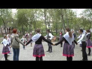Ночь музеев-2015 в усадьбе Сукачева. Польский танец-игра
