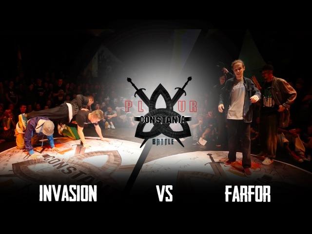 P.L.U.R.BATTLE CONSTANTA 2015|HIP-HOP 1/4 3X3|INVASION(win) VS FARFOR