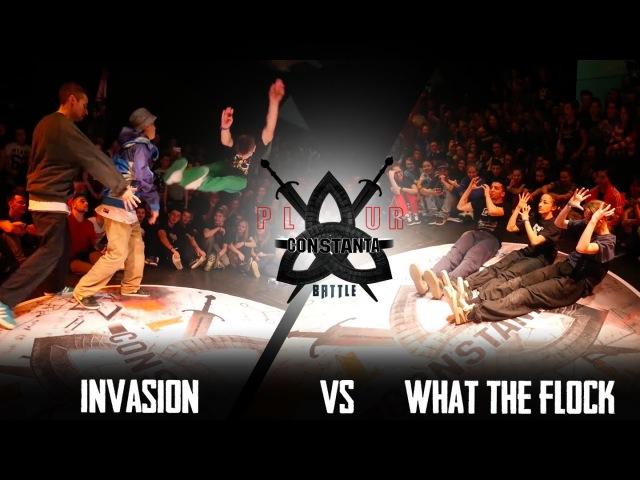 P.L.U.R.BATTLE CONSTANTA 2015|HIP-HOP 1/2 3X3|WHAT THE FLOCK(win) VS INVASION
