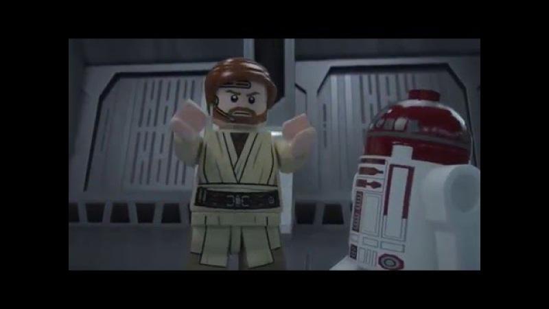 Obi Wan Jedi Interceptor LEGO Star Wars 75135 Product Animation