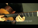 Für Elise Bagatelle no 25 in A Minor classical guitar L V Beethoven