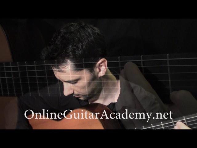 Eine kleine Nachtmusik, 1st mvt, W.A. Mozart (solo classical guitar arrangement by Emre Sabuncuoğlu)