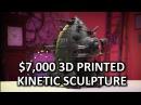 HOLY $H!T- US$7,000 3D Printed Robot!? HMC Galahad