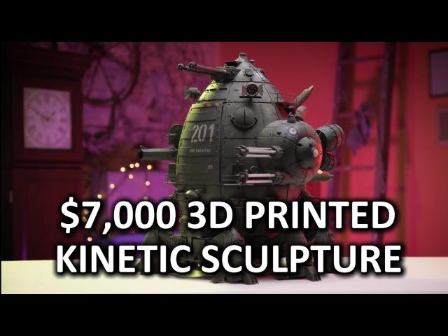 HOLY $H!T- US$7,000 3D Printed Robot!? HMC Galahad » Freewka.com - Смотреть онлайн в хорощем качестве