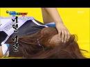 [Idol Star Athletics Championship] 아이돌스타 선수권대회 1부 - 'EXID VS Nine Muses' Korean wrestling 20150928 кфк