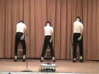 Billie Jean a Michael Jackson dance, with Seniors Tripoli,Carroll and Bourhenne