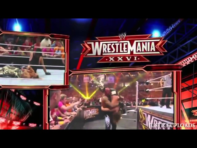 WWE Wrestlemania 26 Undertaker Vs Shawn Michaels 720p HD