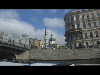 . Санкт-Петербург. Экскурсия по городу на теплоходе (Фонтанка-Мойка-Нева)