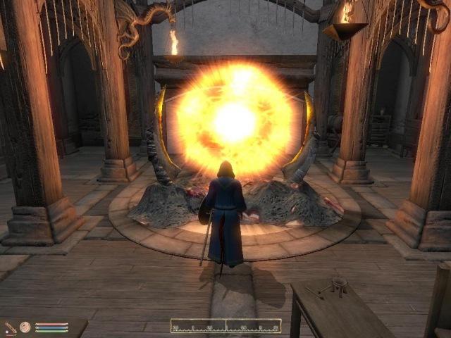 Oblivion часть 15 скинград