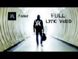 Alan Walker - Faded ( Lyrics  Lyric Video)