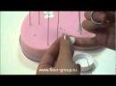 Керамическая флористика fleur Урок 1 часть 2 wmv