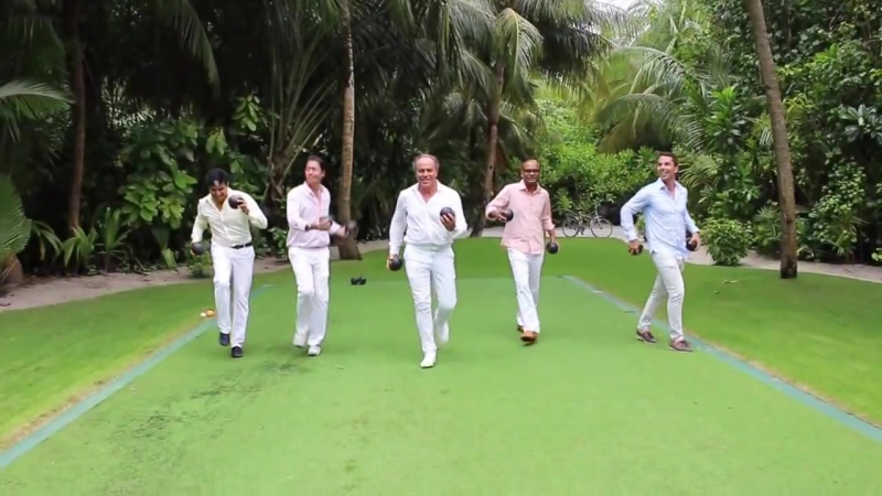 A very Happy New Year 2016 from OneOnly Reethi Rah, Maldives
