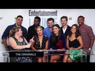 Интервью | Каст сериала «Древние» поздравляют Entertainment Weekly с 25-летием