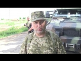 Олександр Турчинов перевірив роботу контрольно-пропускного пункту в зоні проведення АТО