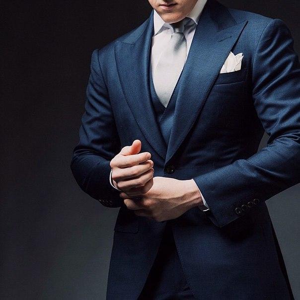 Хороший костюм и добрые манеры никогда не выйдут из моды