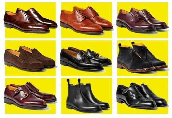 9 видов классической обуви Вот основные виды классической обуви, которую можно и нужно носить в офис с костюмом, и ее некоторые особенности. ОКСФОРДЫ Первая и главная пара обуви в любом деловом гардеробе. Самые классические и самые строгие ботинки, которые отличаются закрытым типом шнуровки. БРОГИ Чем больше декоративной перфорации, тем менее формальны броги. Для офиса выбирайте модели на кожаной подошве, массивные варианты оставьте для загородного дома. ДЕРБИ Выбирайте их, если у вас высокий…