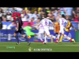 Малага 1:2 Барселона. Обзор матча