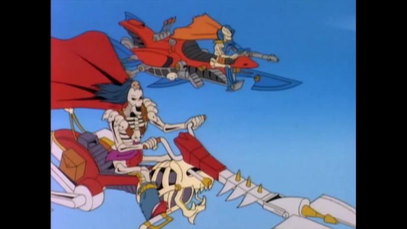 Воины-Скелеты 8 серия из 13 / Skeleton Warriors Episode 8 (1993 - 1994) Прошлое-прекрасно, будущее-неопределенно